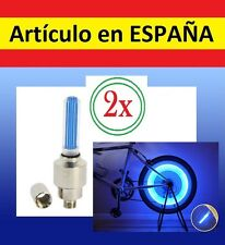 Luz seguridad para VALVULA de rueda de bicicleta bike light LED BICI reflectante