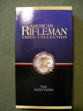 American Rifleman Video Collection ~ The Early Guns (2001, VHS) NRA
