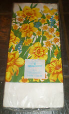 Vintage American Greetings Tablecover – Floral Pattern (1982)