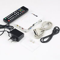 Analog TV Box LCD/CRT VGA/AV Stick Tuner Box View Receiver Converter SY