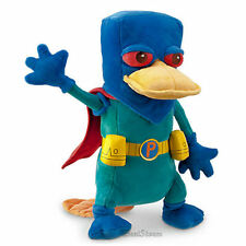 """Disney Store MISSION MARVEL PERRY Plush Toy Doll 13 1/2"""" Platypus Phineas Ferb"""
