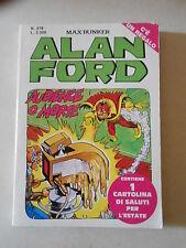 ALAN FORD ORIGINALE n.278 con cartolina  - ED. CORNO
