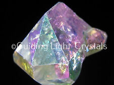 ONE RARE & POWERFUL ANGEL AURA HERKIMER DIAMOND QUARTZ CRYSTAL! HERKIMER, NY