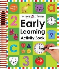Wipe Clean: Early Learning Activity Book Wipe Clean Early Learning Activity Boo