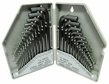 Quality 30pc MM & Imperial  Hex / Allen  Key Set In Folding Case New HX023