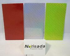 Norisada Scale Chartreuse Red Silver Fishing Lure Tape Dodgers Spoons Spinners