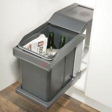 Tirez à poubelle avec runner 20 litre pour 300mm cabinet (hafele 50243500)