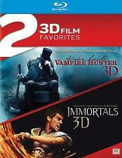 Abraham Lincoln: Vampire Hunter / Immortals Double [Blu-ray], New DVDs