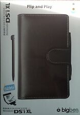 Nintendo DSI XL Flip and Play Case / Protector / Cover & Stylus Brown Chocolate
