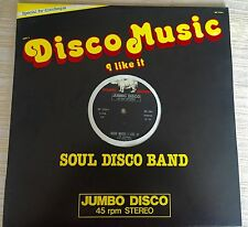 Soul Machine Jumbo italo Disco Music Band Salsoul Invention ‎Like Stereo LP NEW