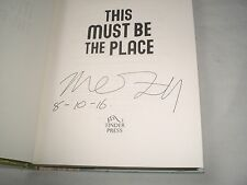 MAGGIE O'FARRELL - This Must Be The Place SIGNED + DATED 1/1 Hb book - 2016