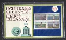 Canada 1984 Lighthouses/Ships 4v Pres Pack (n22134)