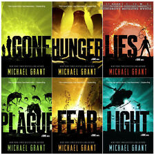 Gone Series Young Adult Collection Set Books 1-6 by Michael Grant Brand New!!!