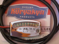 Kuryakyn Chrome LED Battery gauge for all Harley-Davidson dyna 1991 to 2017
