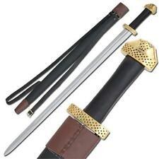 Medeival Viking 9th Century Handcrafted Steel Functional Battle Sword Replica