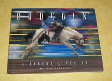 1996 RODEOIN RODEO LEGENDS JOHN MCQUARRIE COWBOY BRONCO BUSTING BULL RIDING BOOK