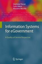 Information Systems for Egovernment : A Quality-of-Service Perspective by...