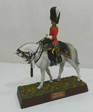 * RARE ET MAGNIFIQUE FIGURINE SENTRY BOX : OFFICIER A CHEVAL - ROYAL SCOTS GREYS