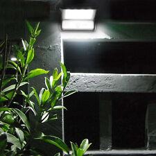 2er  20 LED Solar Wandleuchte Bewegungsmelder Außen Lampe  Garten Strahler