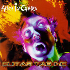Alice In Chains Guitar Tab FACELIFT Lessons on Disc
