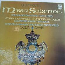 "BEETHOVEN MISSA SOLEMNIS COLIN DAVIS PHILIPS -12""LP(k532)"
