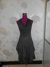 Amazing All Saints Tilly Dress Grey Size 6 Excellent Condition