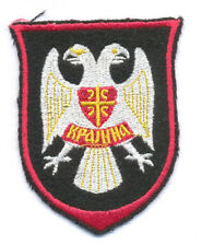 SERBIAN KRAJINA ARMY  -  KRAJINA - DOUBLE HEADED EAGLE, sleeve patch