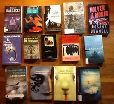 Big Lot Of 14 Books In Spanish Fiction