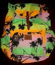 NEW Victoria's Secret TROPICAL PALM TREE FULL Size Backpack BAG Gift *