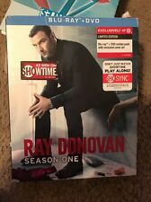 Ray Donovan: Season 1 [Blu-ray] + DVD FREE SHIPPING BRAND NEW + Slipcover!