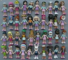 "LOT Of 8 LEGO Friends ACTION FIGURE 2"" LOOSE Style by random S49"
