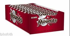 Peter Paul Mounds Chocolate & Coconut Candy Bars - 1.75 oz. - 36 ct.