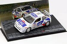 Renault Megane Maxi #21 Rallye Sanremo 1997 Andreucci, Fedeli 1:43 Altaya
