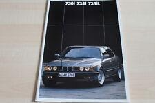 121373) BMW 7er Reihe E32 engl. Prospekt 02/1987