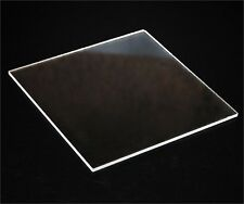 A3 size 420 x 297 x 6mm Acrylic Cell Cast Clear Sheet UV Stable. Display Grade
