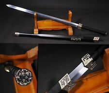 "41.33"" Chinese Sword Han Jian Alloy Fitting Carbon Steel Hand Forge #140"