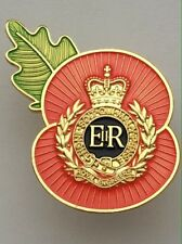Royal Engineers ( RE ) Regimental Poppy Pins
