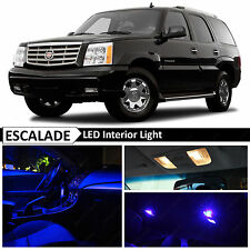 16x Blue Interior LED Lights Package for 2002-2006 Cadillac Escalade SUV + TOOL