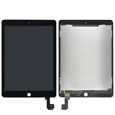 Genuino Negro Apple iPad Air 2 Digitalizador LCD Pantalla Táctil Conjunto Completo