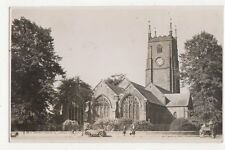 St Eustachius Parish Church Tavistock RP Postcard  198a