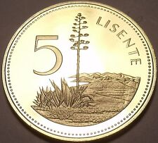 Rare Proof Lesotho 1979 5 Licente~10k Minted~Pine Among Hills~Free Shipping