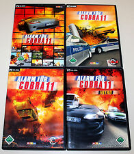 4 PC Giochi Set-allarme per Cobra 11-vol 1 2 3 I II III & Nitro