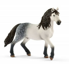 Schleich 13821 Grey Andalusian Stallion Horse Model Toy Figurine 2017 - NIP