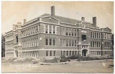Real Photo Postcard Beatrice High School in Beatrice, Nebraska~104679