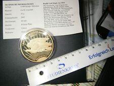 Moneta commemorativa ORO REPLIK Double Eagle 1933-2002 in lucide piastra incapsulato