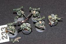 Juegos taller Warhammer 40k caos marines espaciales Nurgle JOBLOT Metal Protector De La Muerte