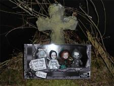 LIVING DEAD DOLLS 4 MINIS Christmas Xmas Dickens Carol Box Set Death Sealed RARE