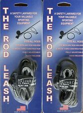 The Rod Leash Don't Loose Your Fishing Rod Canoeing, Kayaking (2) Pack Offer