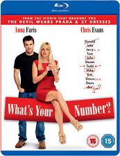 WHAT'S YOUR NUMBER?****BLU-RAY****REGION B****NEW & SEALED
