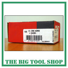 HILTI 42MM GENUINE NAILS FOR HILTI DX460 X-DNI 42 MX 34380 MAGAZINE